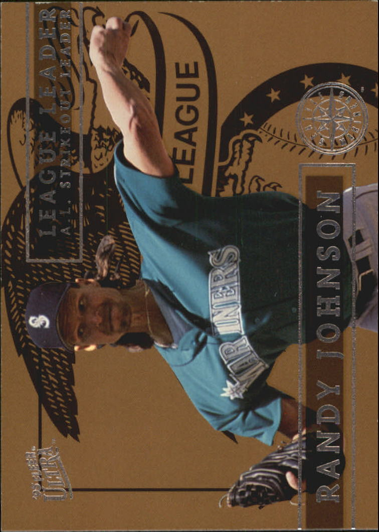 1995 Ultra League Leaders #4 Randy Johnson