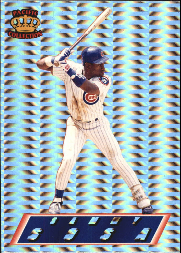1995 Pacific Prisms #26 Sammy Sosa