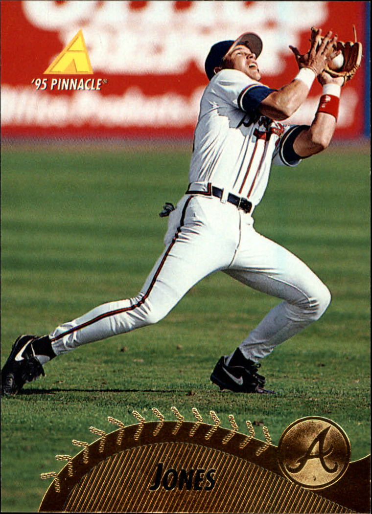1995 Pinnacle #111 Chipper Jones