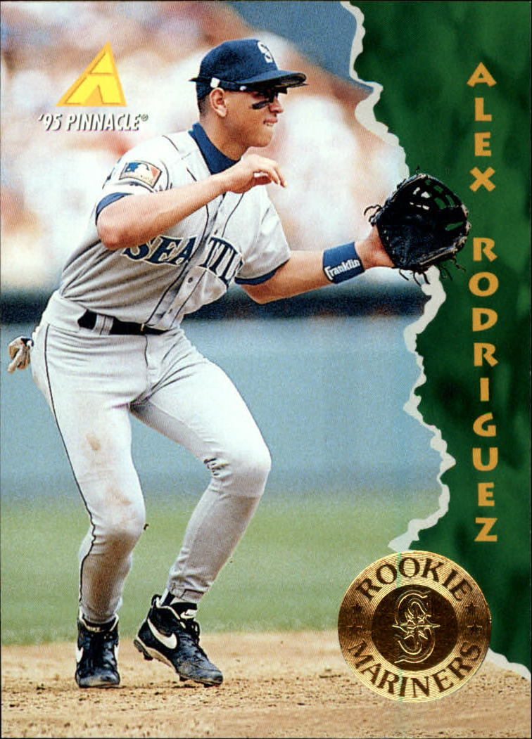 1995 Pinnacle #132 Alex Rodriguez