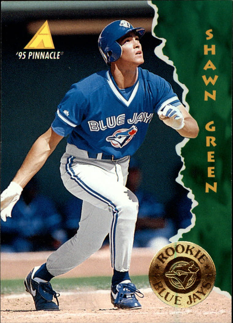 1995 Pinnacle #135 Shawn Green