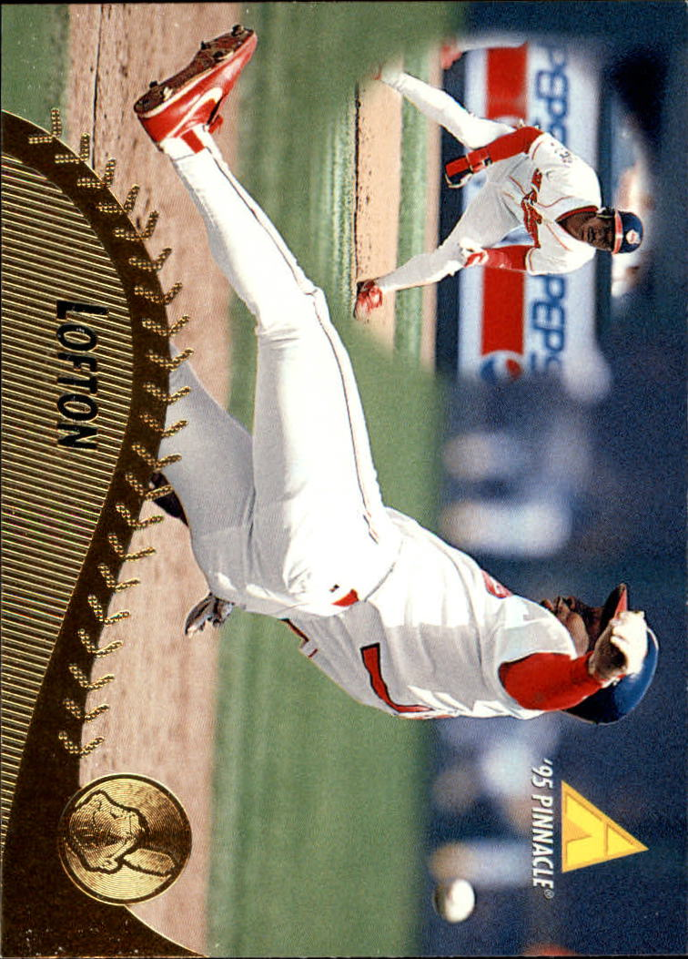 1995 Pinnacle #189 Kenny Lofton