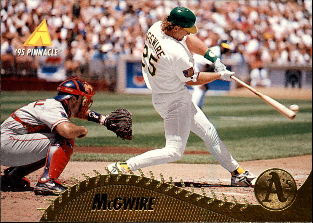 1995 Pinnacle #196 Mark McGwire