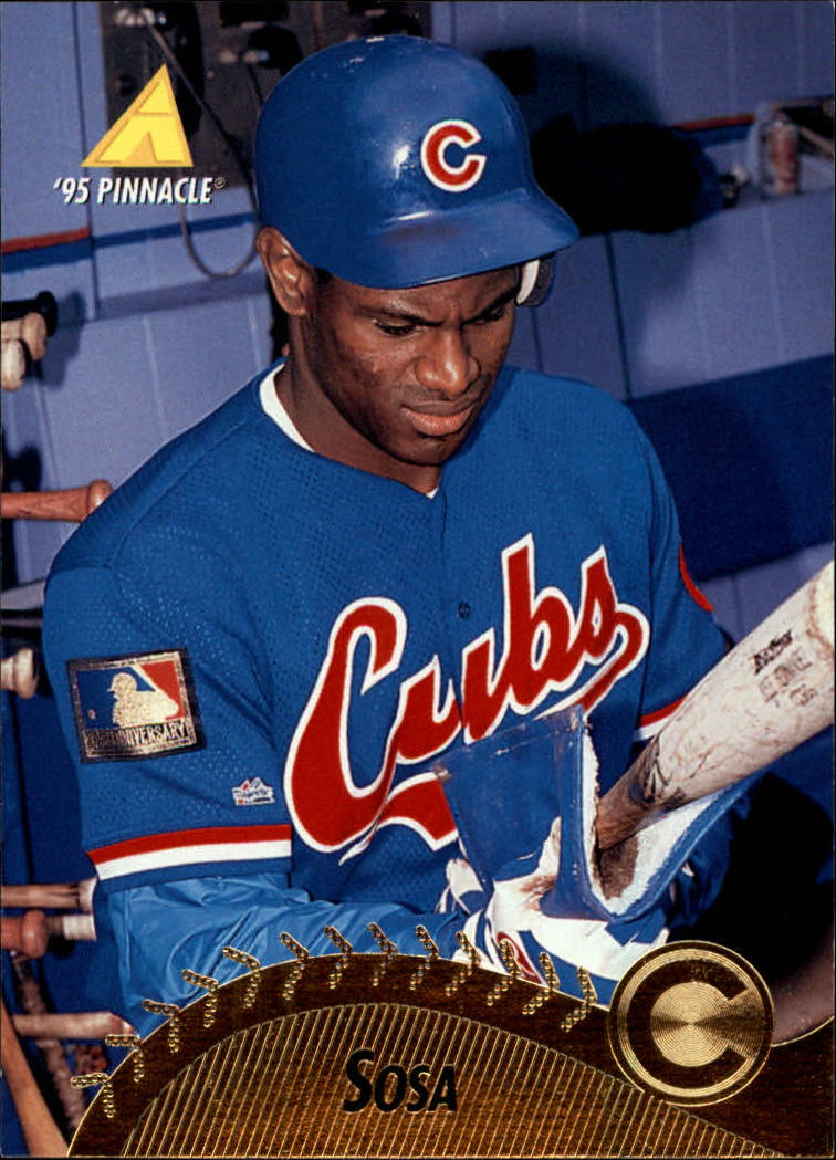 1995 Pinnacle #230 Sammy Sosa