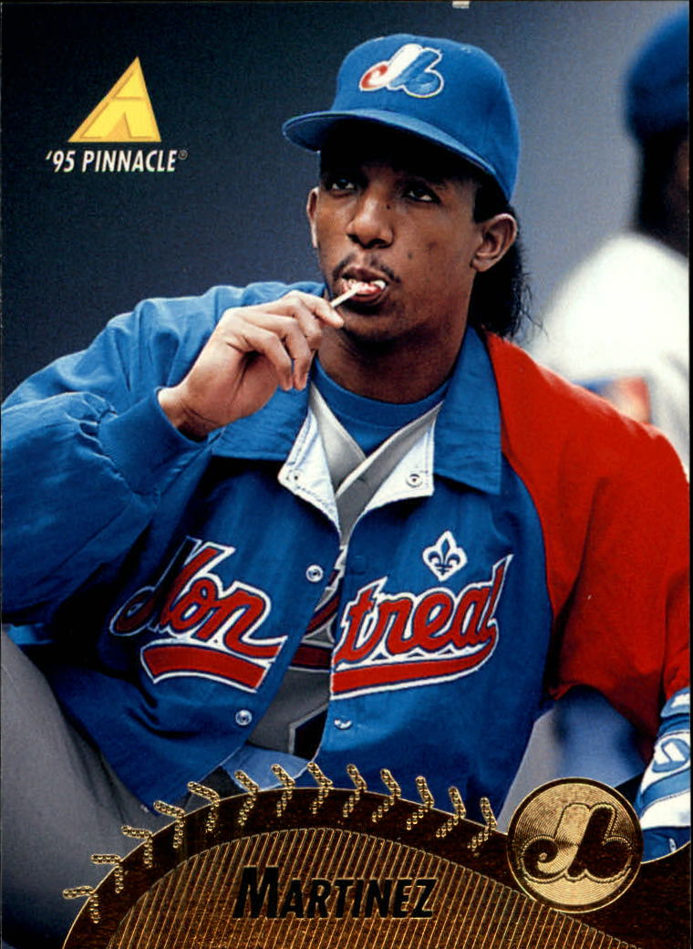 1995 Pinnacle #235 Pedro Martinez