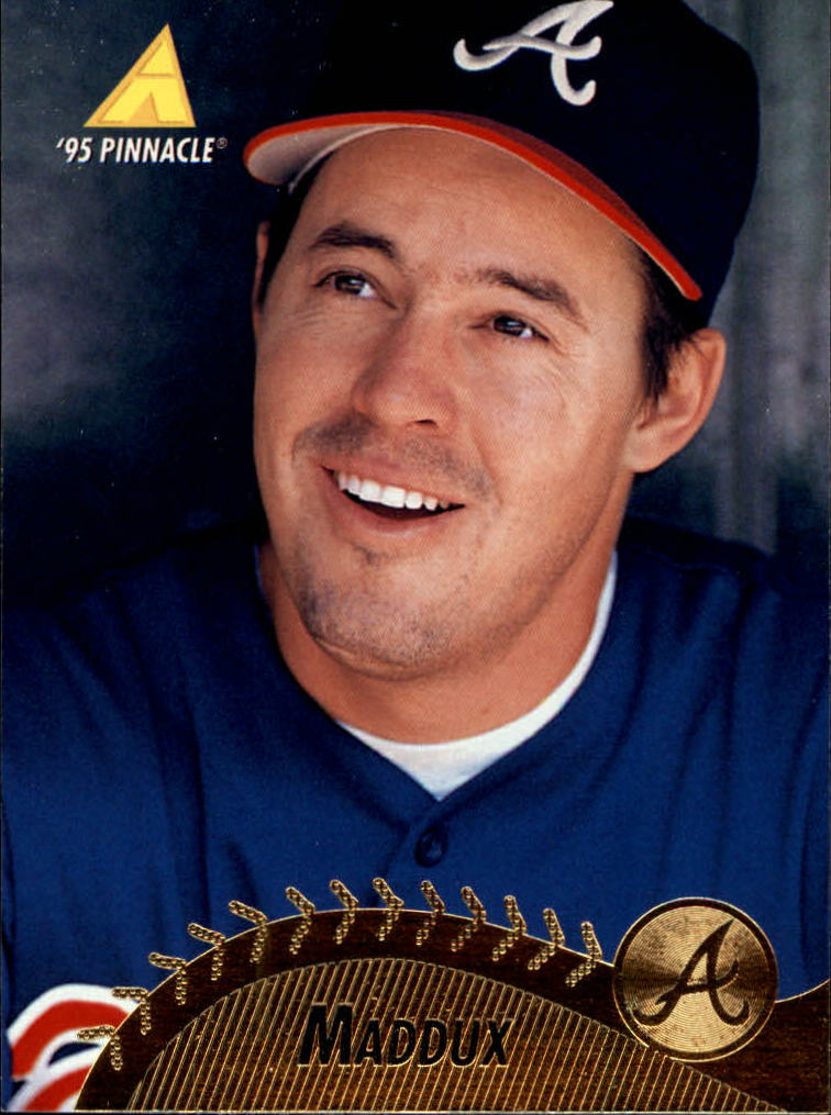 1995 Pinnacle #244 Greg Maddux