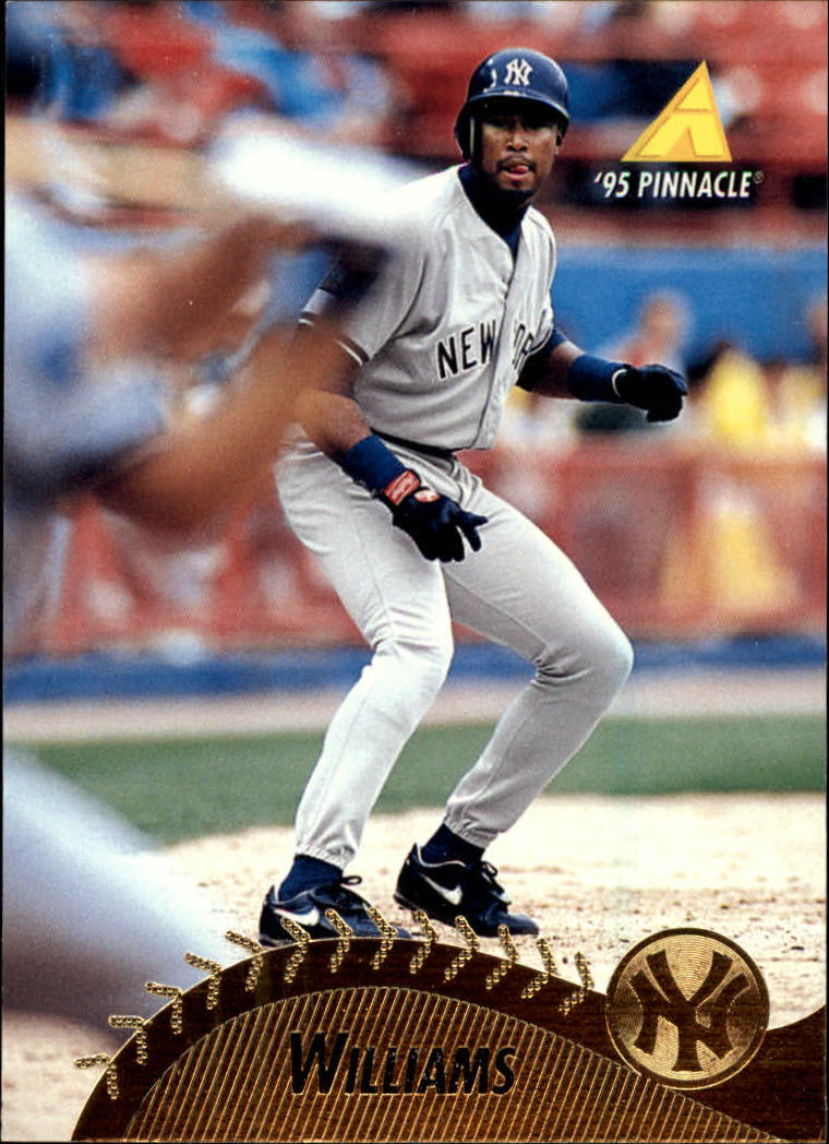 1995 Pinnacle #248 Bernie Williams