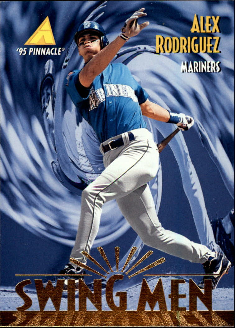 1995 Pinnacle #283 Alex Rodriguez SM