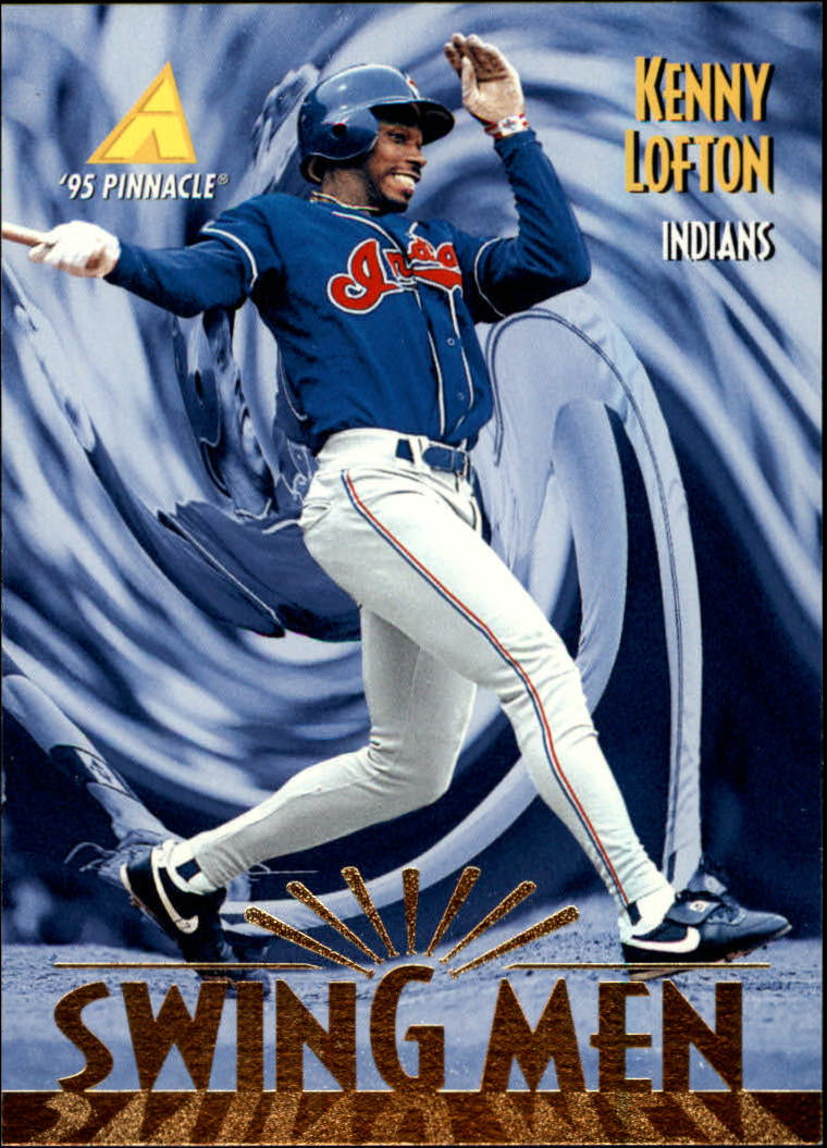 1995 Pinnacle #284 Kenny Lofton SM