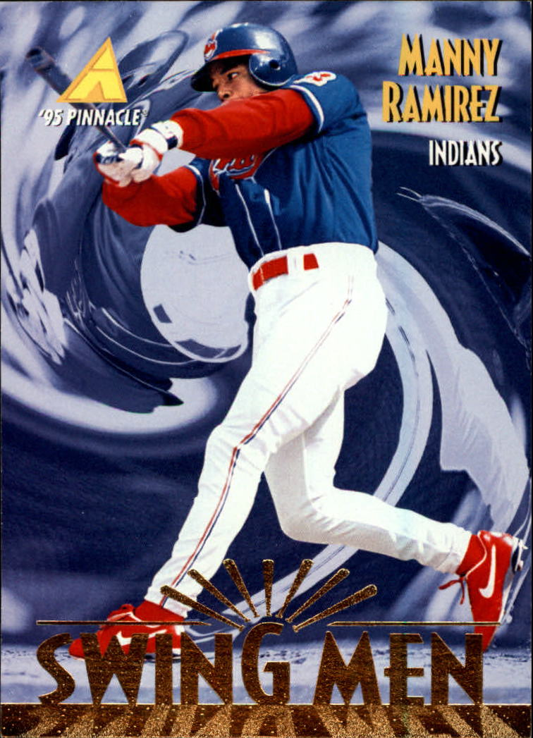 1995 Pinnacle #287 Manny Ramirez SM