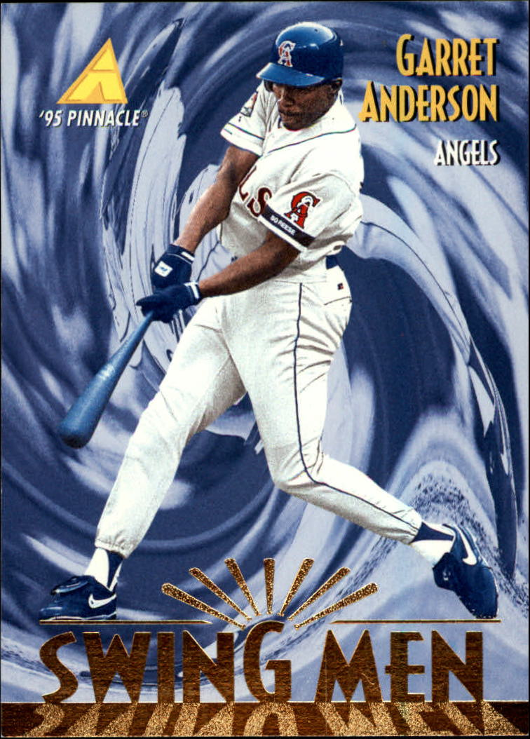 1995 Pinnacle #289 Garret Anderson SM