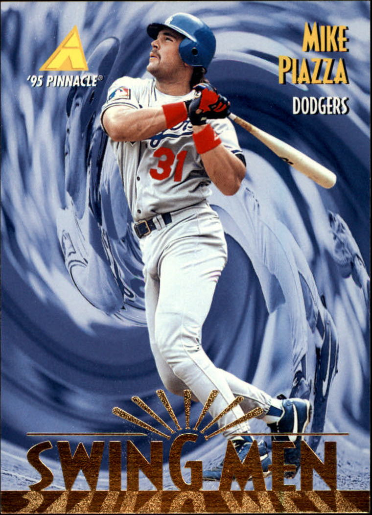 1995 Pinnacle #300 Mike Piazza SM
