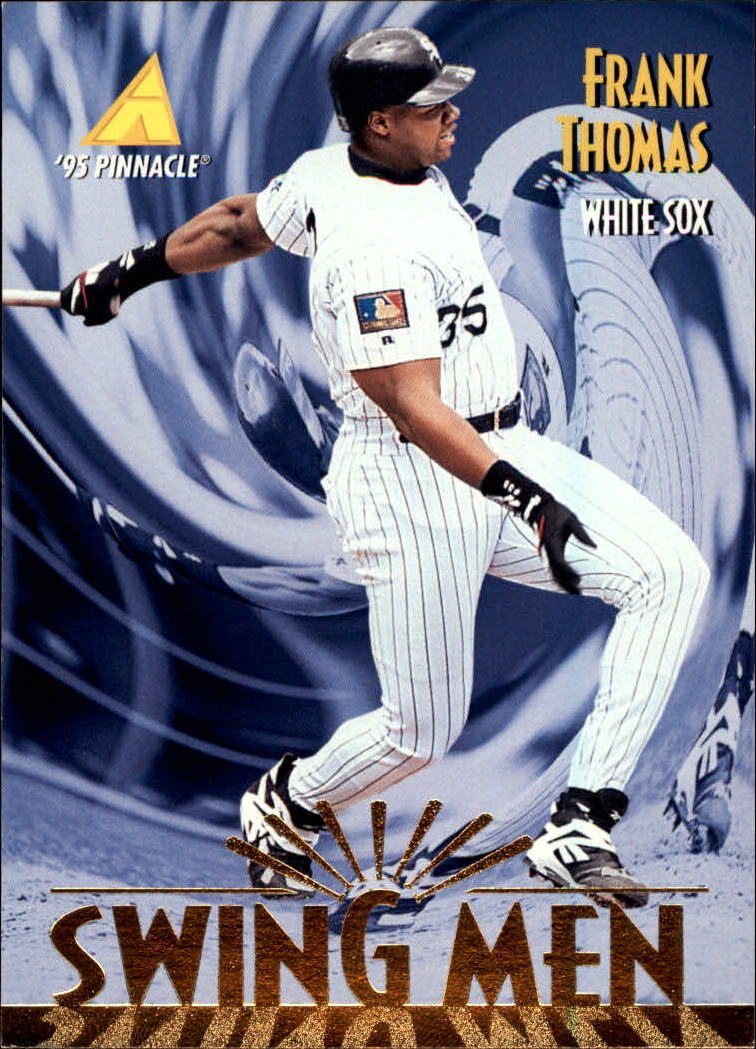 1995 Pinnacle #302 Frank Thomas SM