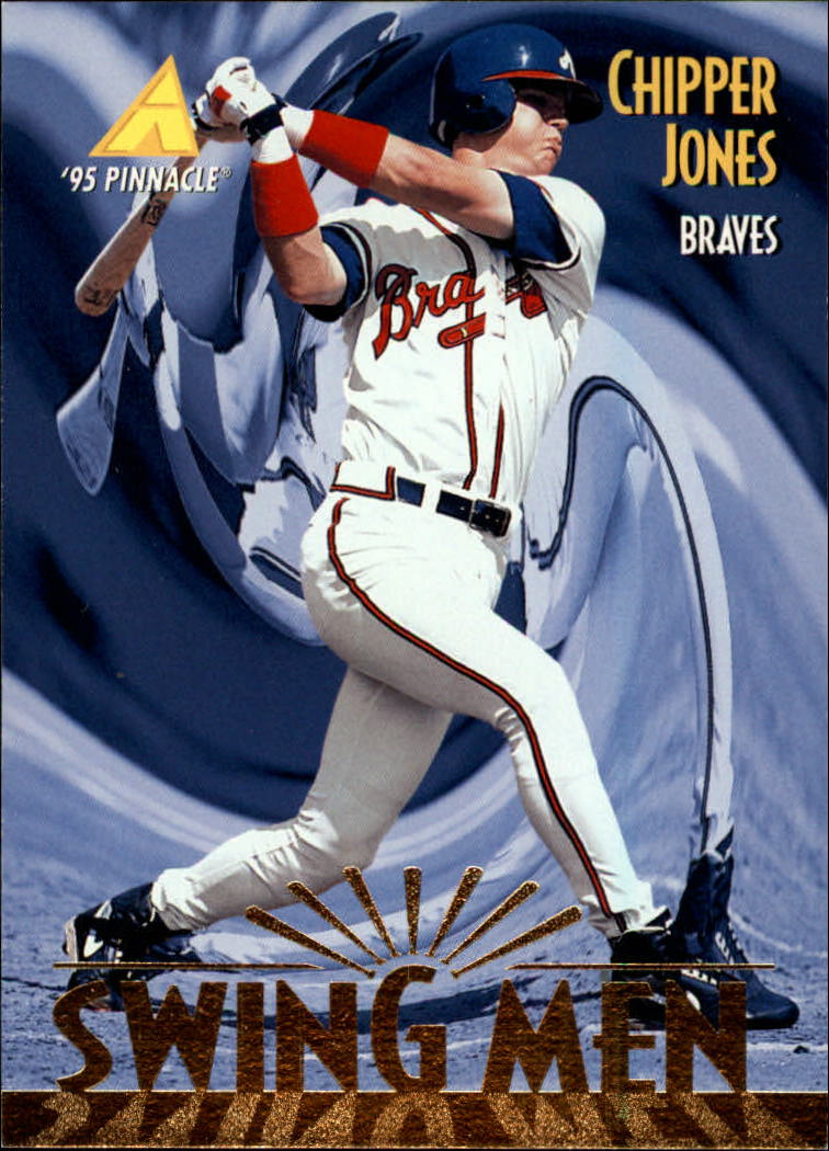 1995 Pinnacle #303 Chipper Jones SM