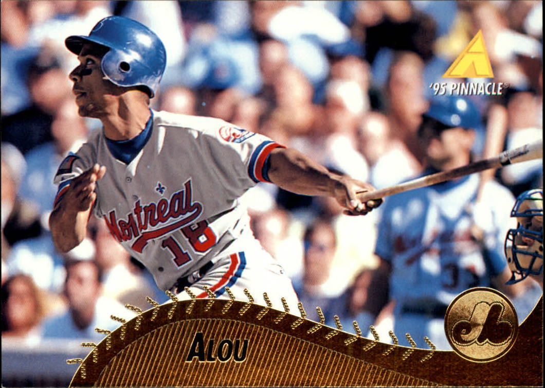 1995 Pinnacle #321 Moises Alou