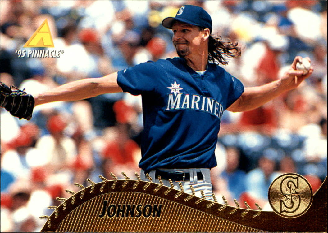 1995 Pinnacle #330 Randy Johnson