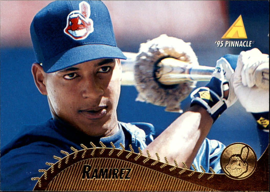1995 Pinnacle #350 Manny Ramirez