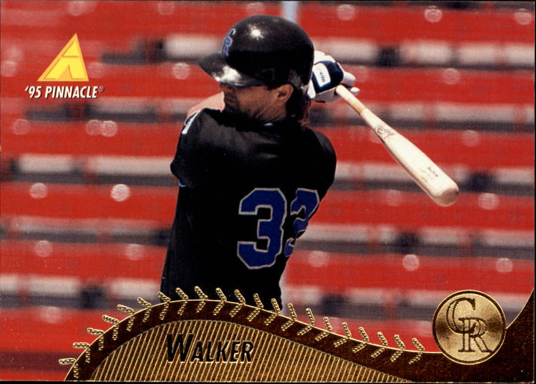 1995 Pinnacle #372 Larry Walker