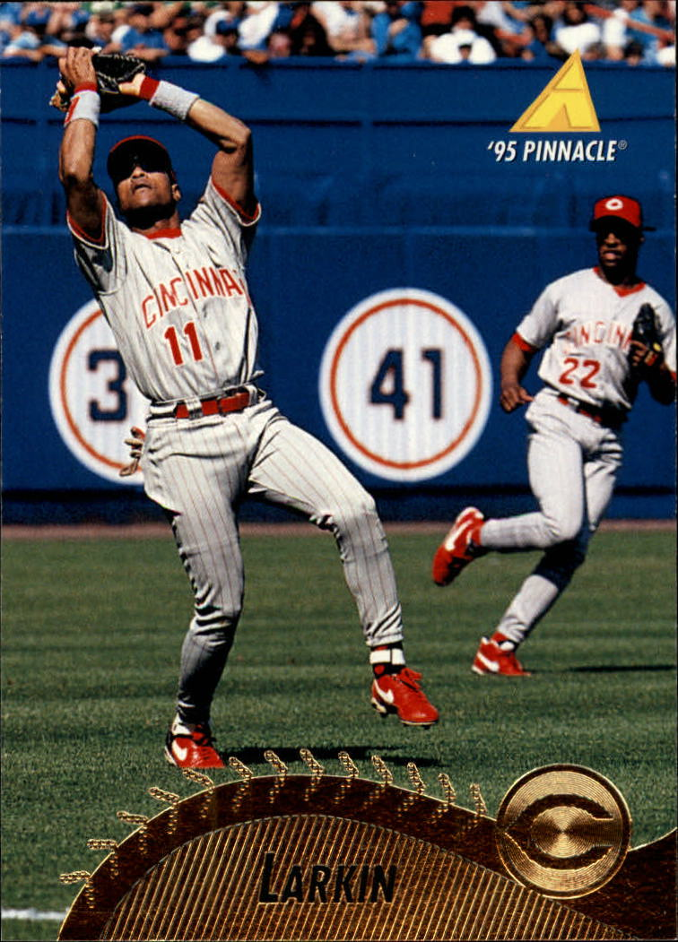 1995 Pinnacle #382 Barry Larkin