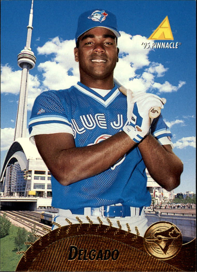 1995 Pinnacle #390 Carlos Delgado