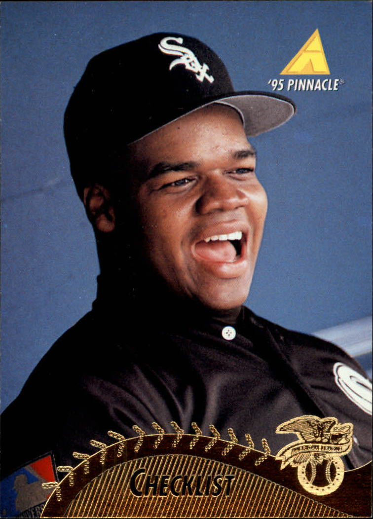 1995 Pinnacle #446 Frank Thomas CL