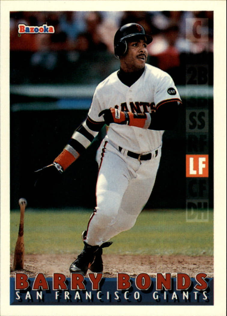 1995 Bazooka #20 Barry Bonds