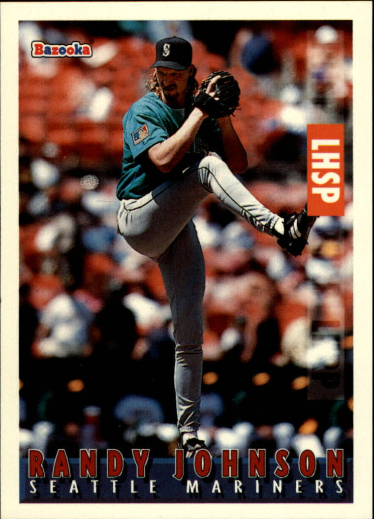 1995 Bazooka #54 Randy Johnson