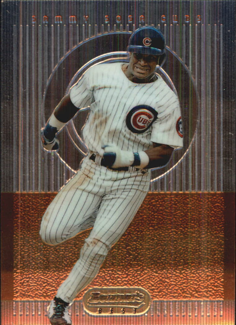1995 Bowman's Best #R35 Sammy Sosa