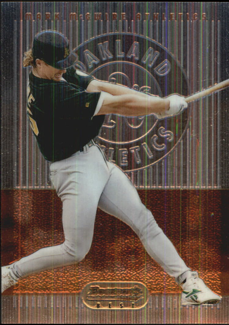1995 Bowman's Best #R69 Mark McGwire
