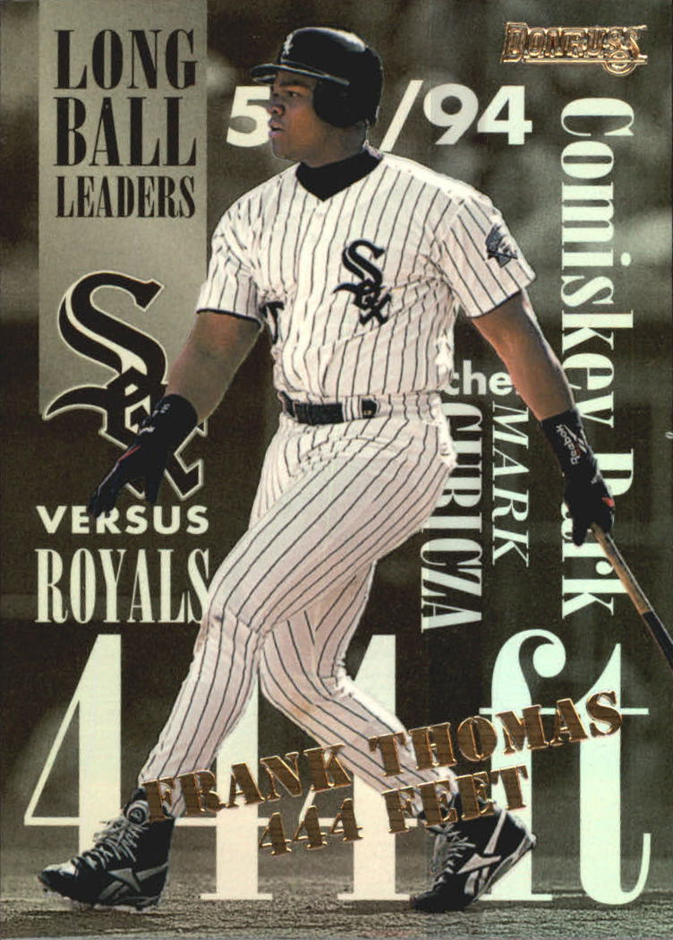 1995 Donruss Long Ball Leaders #1 Frank Thomas