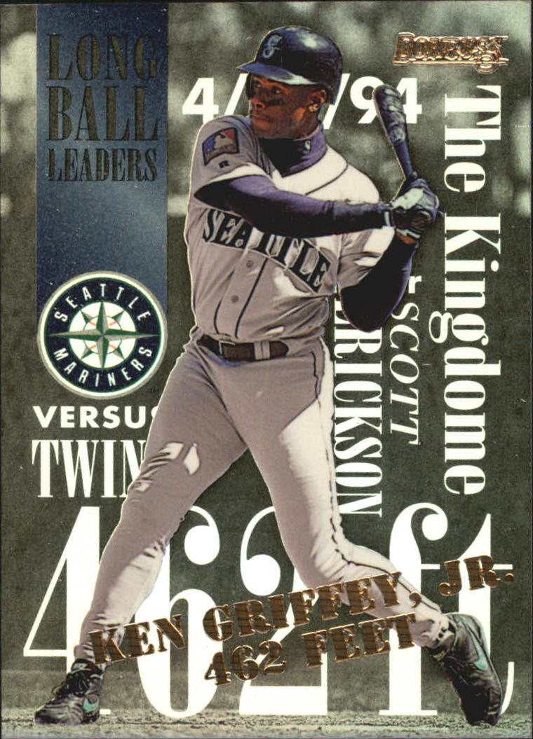 1995 Donruss Long Ball Leaders #3 Ken Griffey Jr.