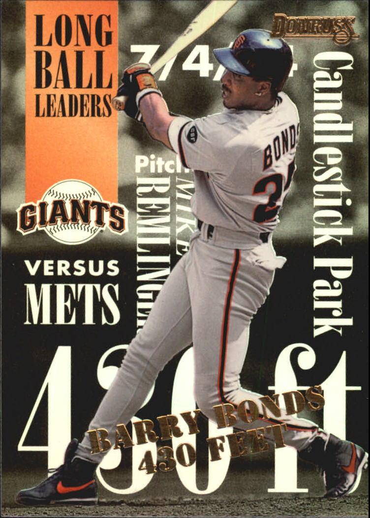 1995 Donruss Long Ball Leaders #7 Barry Bonds