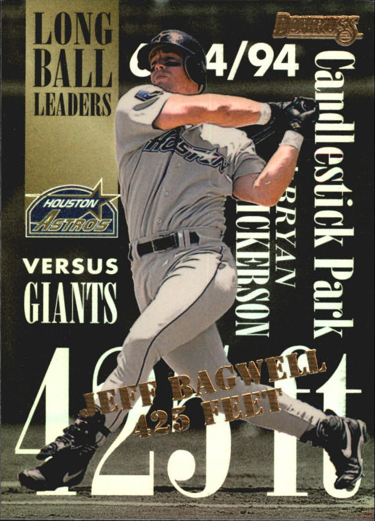 1995 Donruss Long Ball Leaders #8 Jeff Bagwell