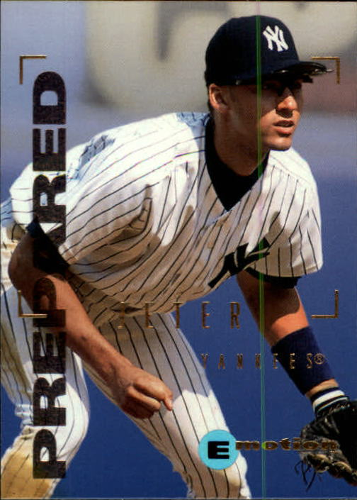 1995 Emotion #60 Derek Jeter