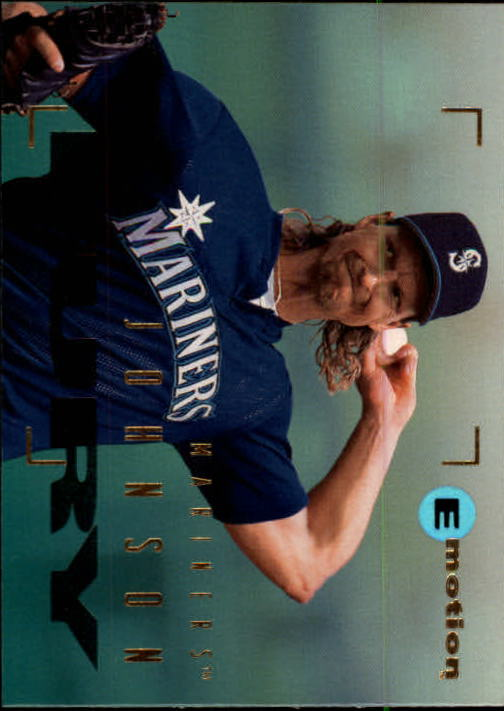 1995 Emotion #78 Randy Johnson
