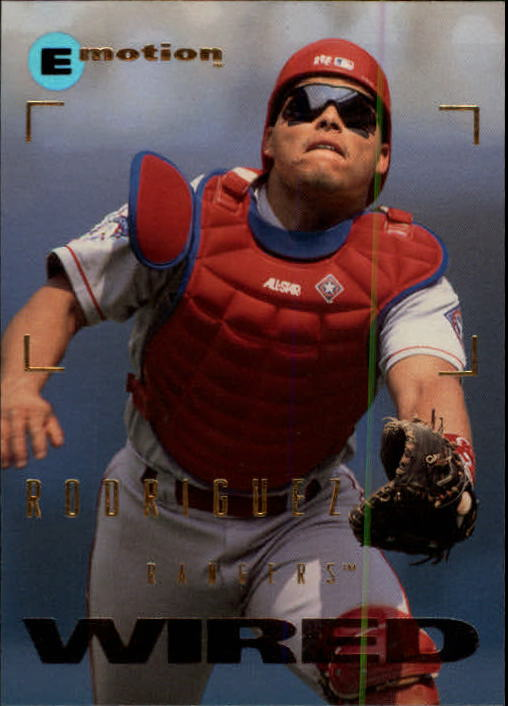 1995 Emotion #88 Ivan Rodriguez