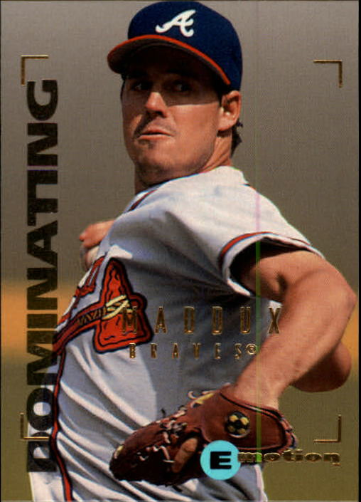 1995 Emotion #106 Greg Maddux