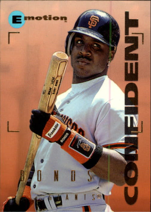 1995 Emotion #192 Barry Bonds
