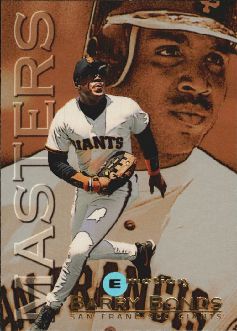 1995 Emotion Masters #1 Barry Bonds