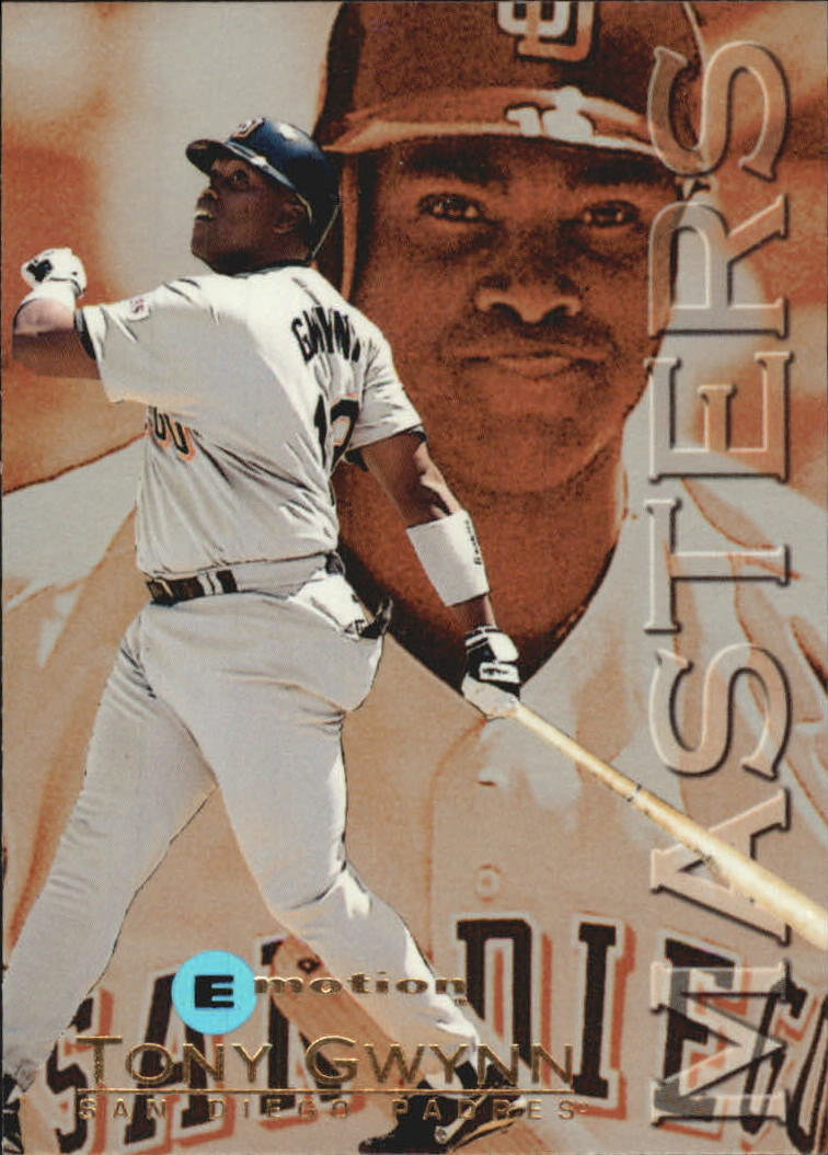 1995 Emotion Masters #4 Tony Gwynn