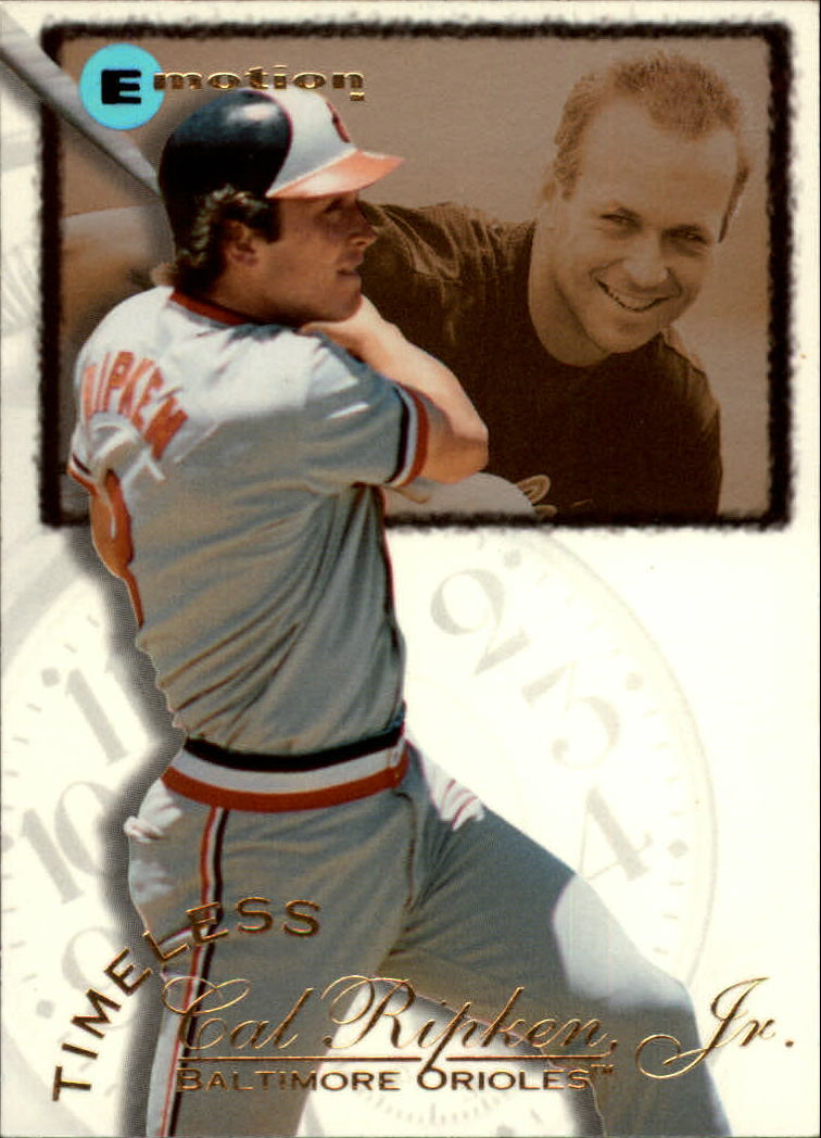1995 Emotion Ripken #1 Cal Ripken/High School Pitcher