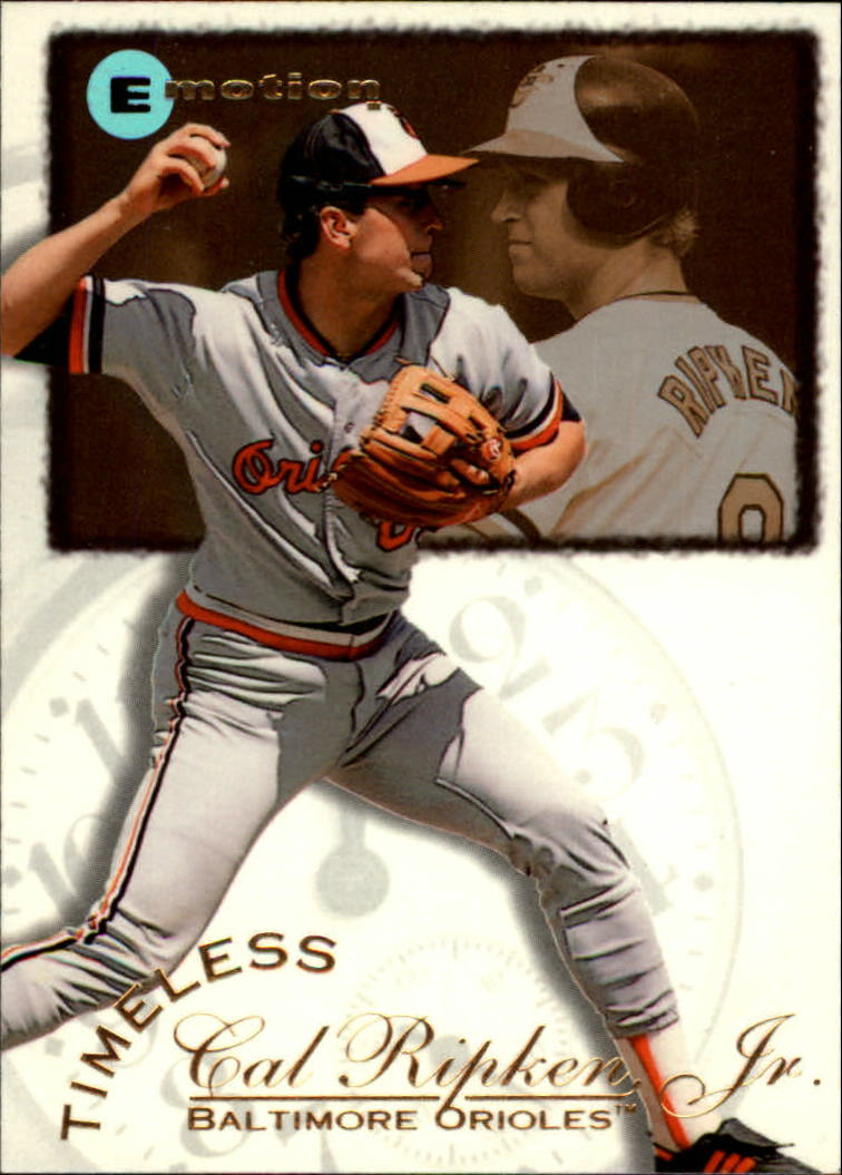 1995 Emotion Ripken #4 Cal Ripken/1st MVP Season