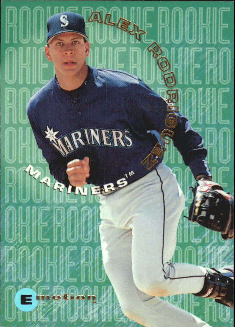 1995 Emotion Rookies #10 Alex Rodriguez