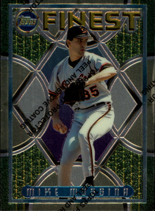 1995 Finest #48 Mike Mussina