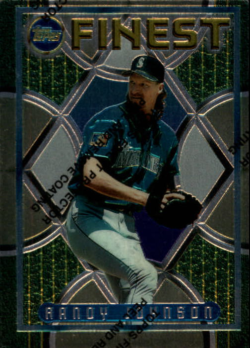 1995 Finest #76 Randy Johnson