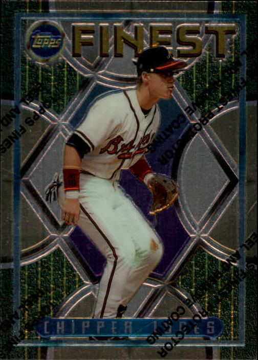 1995 Finest #221 Chipper Jones