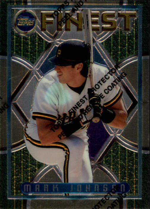 1995 Finest #236 Mark Johnson RC