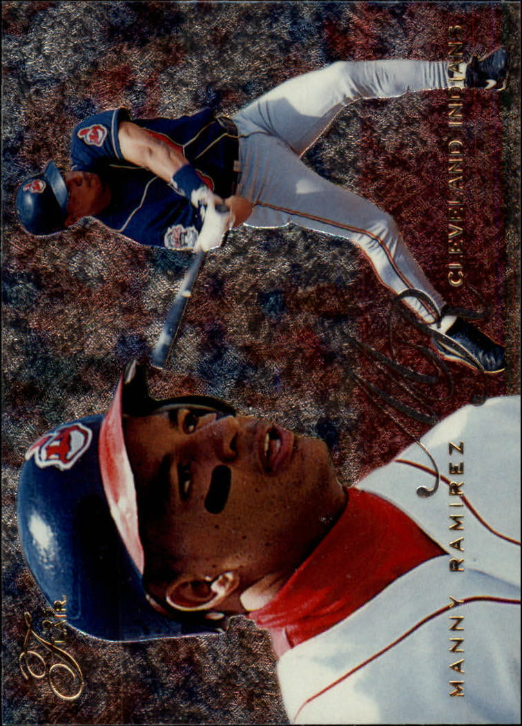 1995 Flair #35 Manny Ramirez
