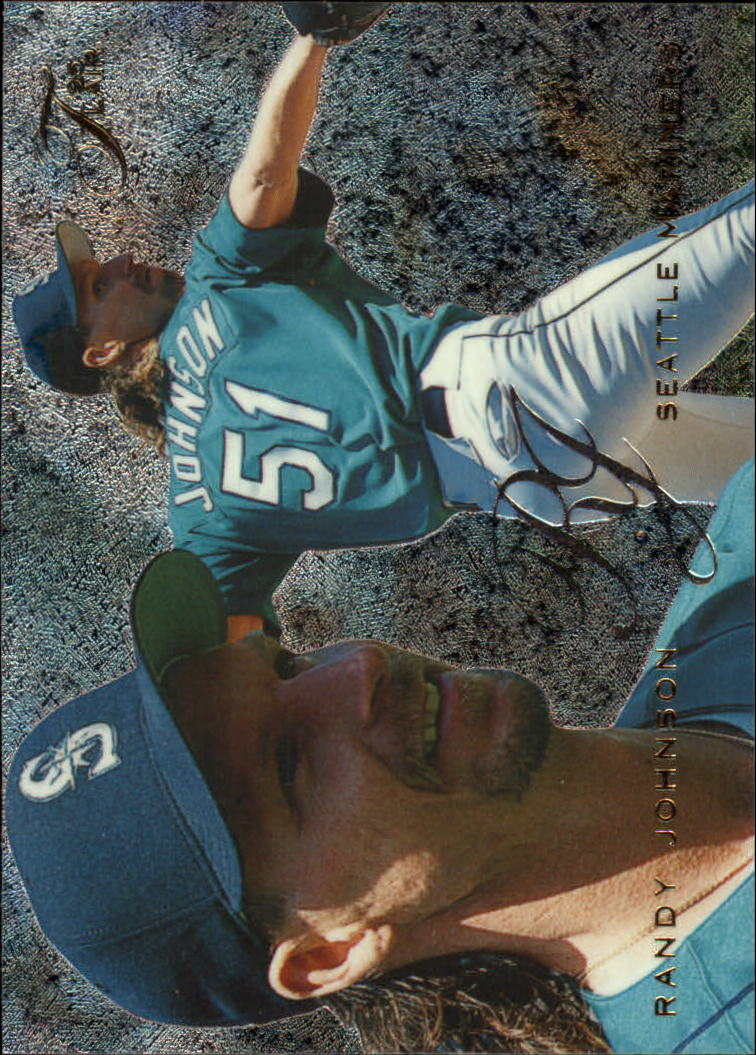 1995 Flair #82 Randy Johnson