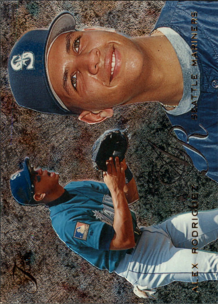 1995 Flair #85 Alex Rodriguez